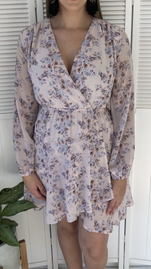 Love Affair Dress in Pink Floral