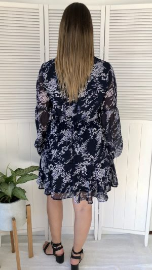 A Star is Born dress in Navy