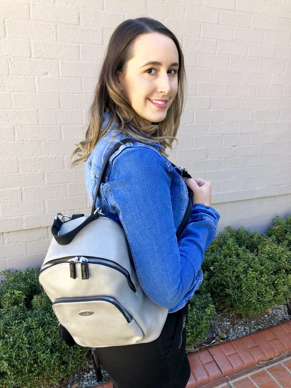 Brooklyn Backpack in Taupe