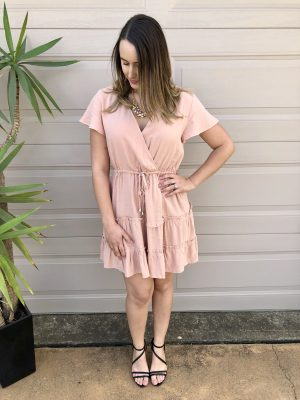 Angel Dress in Pink