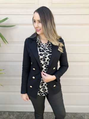 Nothing but Class Blazer in Black
