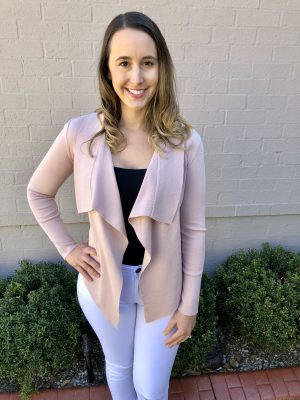 Piper Lane Mini Cardigan Blush