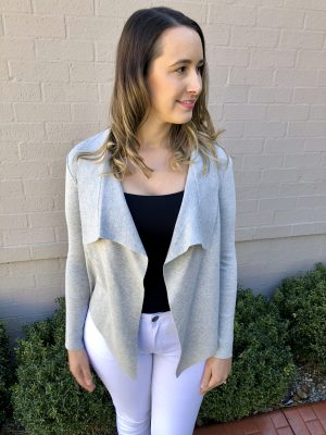 Piper Lane Mini Cardigan Grey
