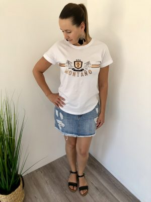 Montano T-shirt in White