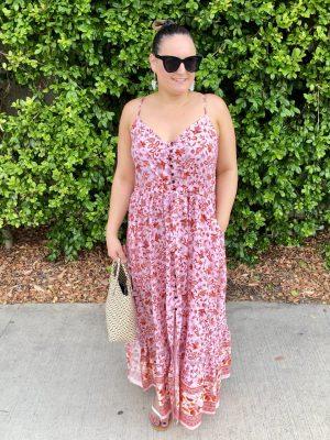 Keely Maxi Dress with Straps